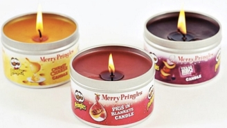 We've Reached A Point In Our Existence Where We're Lucky Enough To Have Pringles-Scented Candles