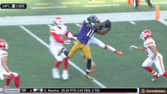 The Ravens Scored On A Ridiculous Hail Mary Touchdown To Close Out The First Half