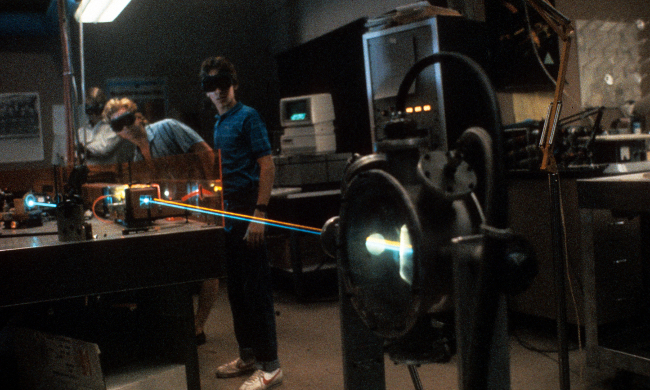 Real Genius laser