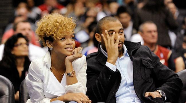 Rihanna Matt Kemp Clippers