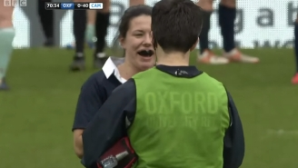 This Rugby Badass Deals With Her Dislocated Finger Like It's No Big Thing
