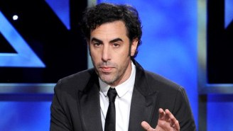 Sacha Baron Cohen Made A Staggeringly Huge Donation To Help Syrian Refugees