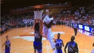 Watch Texas' Kerwin Roach Posterize A Poor Texas-Arlington Player