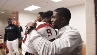 Reggie Bush Showed Up To Support USC In The Pac-12 Championship Game