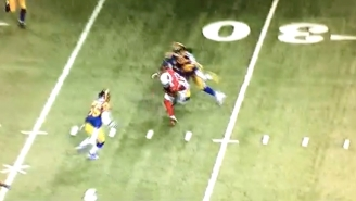 A Rams Defender Accidentally Crushed His Own Teammate With A Huge Hit
