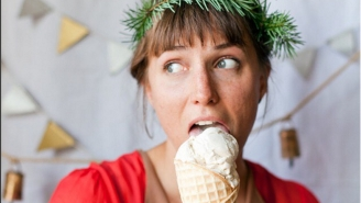 Go Out Of Your Way To Find These Winter Ice Cream Flavors