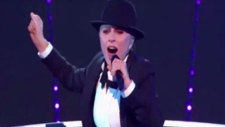 Lady Gaga Went Full Sinatra While Covering 'New York, New York'