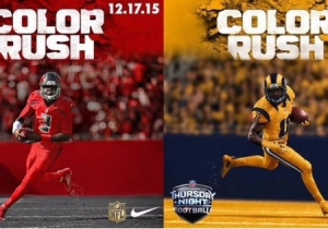 Check Out The 'Color Rush' Uniforms For The Tampa Bay Buccaneers And St. Louis Rams