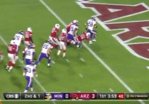 Adrian Peterson Scored His 100th Career Touchdown In Style