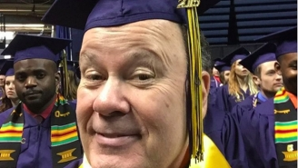 Mr. Belding From 'Saved By The Bell' Is Now A Very Proud College Graduate