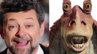 Andy Serkis Could've Easily Brought An Evil Jar Jar Binks To Life In 'Star Wars: The Force Awakens'