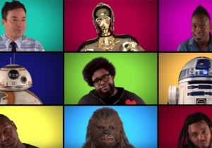 Enjoy This Acapella 'Star Wars' Medley From The Cast Of 'The Force Awakens'