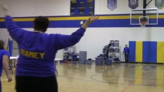 This Mom Won Free Tuition For Her Daughter With A Ridiculously Lucky Half-Court Shot