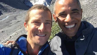 President Obama Wouldn't Drink His Own Pee On 'Running Wild With Bear Grylls'