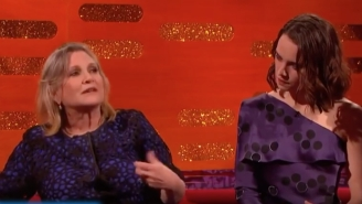 Carrie Fisher Gave Daisy Ridley Some Pretty Useful Sex Advice On The Set Of 'Star Wars'