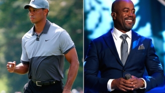 Tiger Woods Spent His 40th Birthday Partying It Up With Darius Rucker