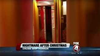 A Cruise Ship Turned Into 'The Shining' When An Elevator Began Pouring Blood
