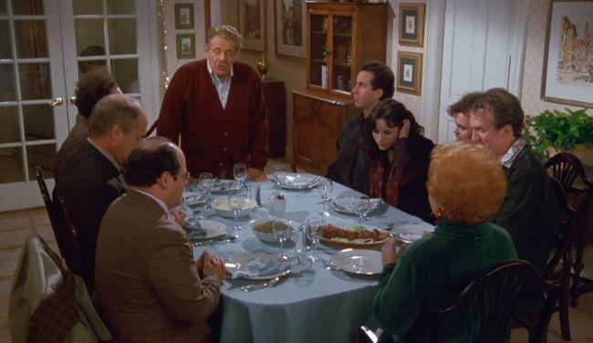 Seinfeld Festivus dinner