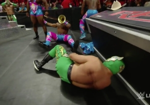 Here's An Update On Sin Cara, Who Broke Himself Again On Raw