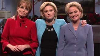 Tina Fey And Amy Poehler Return As Sarah Palin And Hillary Clinton On 'SNL'