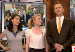 Joel McHale's 'Community' Pals Will Help Him Say Goodbye To 'The Soup' Tonight