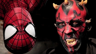 Watch Spider-Man Swing Into Battle Against Darth Maul In This Epic Fan Film