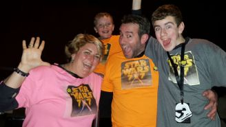 Meet The Families Willing To Take On The 'Star Wars' Movie Marathon Together