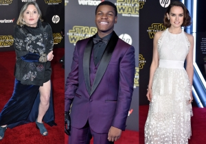 24 fierce fashions from the red carpet premiere of 'Star Wars The Force Awakens'