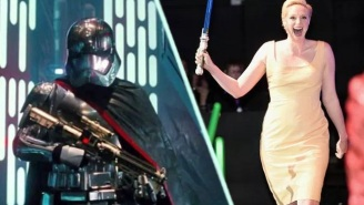 Gwendoline Christie Revealed Something About 'Star Wars: Episode VIII'