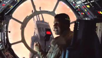 A New 'Star Wars: The Force Awakens' Spot Shows Off Finn's Aim