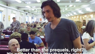 Adam Driver Gives A Superb Answer When Asked If 'The Force Awakens' Is Better Than The Prequels