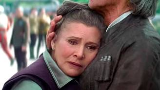 Carrie Fisher Was Asked To Lose Weight — Again — For 'Star Wars: The Force Awakens'
