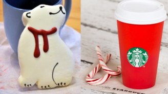 The Newest Starbucks Controversy Involves These Absurd Polar Bear Cookies