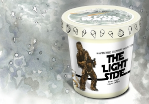 Join The Dark Side (Or The 'Light' Side) With This 'Star Wars' Ice Cream