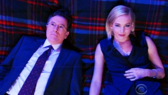 Jennifer Lawrence And Stephen Colbert Came To A Scary Conclusion On Alien Life