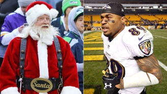 Steve Smith Threatened Santa, Proving Once Again He's The Greatest Trash Talker