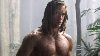 The First 'Legend Of Tarzan' Trailer Gives Us A Clear Look At Alexander Skarsgard And His Abs