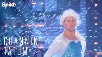 Watch A Preview Of Channing Tatum Letting It Go On 'Lip Sync Battle'