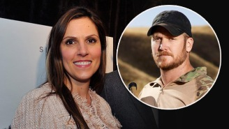 'American Sniper' Chris Kyle's Widow May Be Just As Good With A Gun As He Was