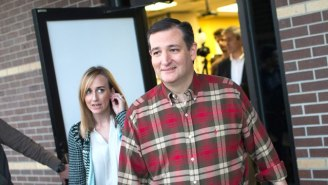 One Man's Quest For Selfies With Candidates Turned Into A Prank On Ted Cruz