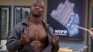 Who Wants To Watch Terry Crews Play 'Jingle Bells' On His Pecs? Of Course You Do