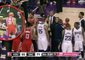 DeMarcus Cousins' Manager Slapped Jason Terry And Got Ejected Tuesday Night