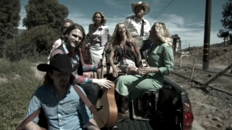 Watch This Band Turn Macklemore's 'Downtown' Into A Bluegrass Banger