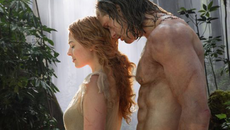 Alexander Skarsgard is ripped like Jesus in the first image from 'The Legend of Tarzan'