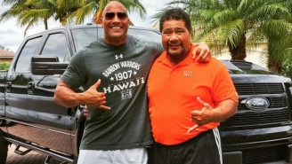 The Rock's Extravagant Christmas Gift To His Uncle Is Guaranteed To Warm Your Heart