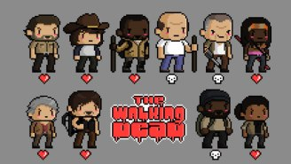 This 'Walking Dead' Pixel Art Shows You What The 16-Bit Zombie Apocalypse Looks Like