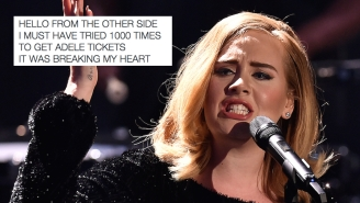 No One Got Tickets To See Adele In Concert, And Everyone's Crying