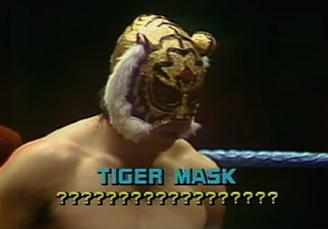 Stop What You're Doing And Watch Tiger Mask Sing Elvis Presley