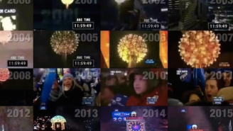 Bring In The New Year With This Video Mashup Of Every Single Times Square Ball Drop Since 2000 At Once