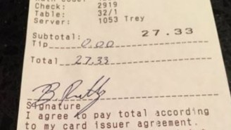 This Nebraska Football Player Caused A Tipping Controversy When He Stiffed A Waitress